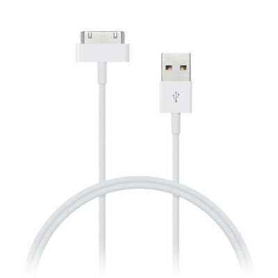 10ft USB 30-pin Dock Connector Charge Sync Cable iPad iPhone 4G 4S iPod Nano 3M