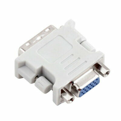 DVI to VGA SVGA Converter Adapter DVI-I Dual Link 24+5 pin Male to 15 Female New