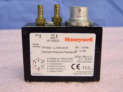 NEW Honeywell Precision Differential Pressure Transducer PPT003-1C-WW-2V-B 3-PSI
