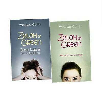 Zelah Green Young Adults Collection 2 Books(Who Says I'm a Freak,Paperback