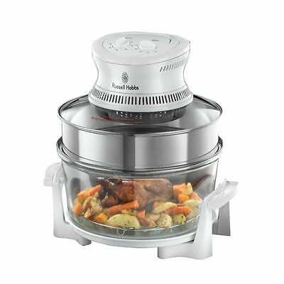 Russell Hobbs 18537 Roasting Baking & Grilling 1400W 16L Halogen Oven New