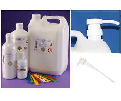 PVA GLUE STRONG CRAFT ADHESIVE DRIES CLEAR 60ml, 500ml or 5 LITRE & DISPENSER