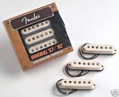 NEW Fender Stratocaster Original 57/62 Pickup Set, 099-2117-000