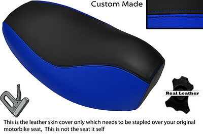 Royal Blue & Black Custom Fits Peugeot Zenith 50 Dual Seat Cover Only