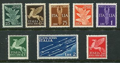ITALY 1930-32 AIR MNH Set 8 Stamps