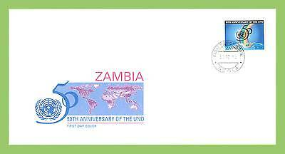 Zambia 1995 50th Anniversary of United Nations Organization First Day Cover