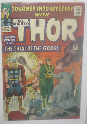Journey into Mystery #116  3.5 VG-  Thor Comic book  1965