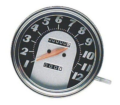 Bikers Choice Speedometer Antique Face For Harley FL FX FXWG