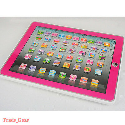 Y-pad Computer Tablet Learning English Education Machine Toy Gift for Kids PINK