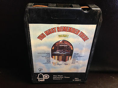 You Must Remember These Volume I ONE 8-Track Tape 1977 Gladys Knight TURBANS