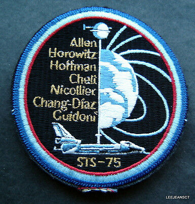 NASA Vector Emblem 4 inch Embroidered Patch - Official ...