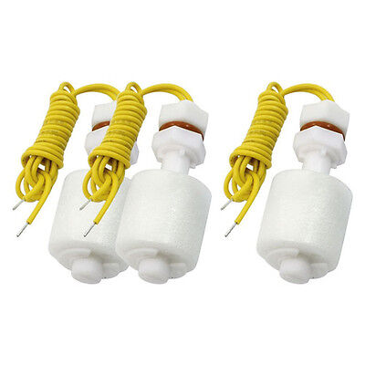 3PCS Aquarium Wired Liquid Water Level Sensor Float Switch NEW