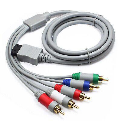 YellowPrice - Nintendo Wii Audio Video HD Component Cable gold plated