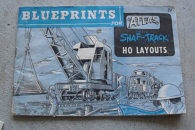 Vintage 1960 booklet blueprints for atlas snap track ho layouts vintage 1960 booklet blueprints for atlas snap track ho layouts malvernweather Gallery