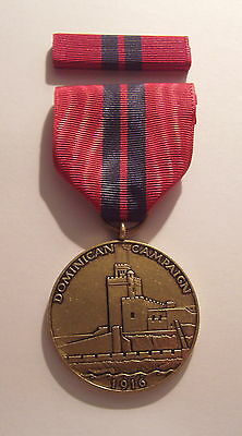 1916 U.S. Navy Dominican Campaign Medal with RIBBON