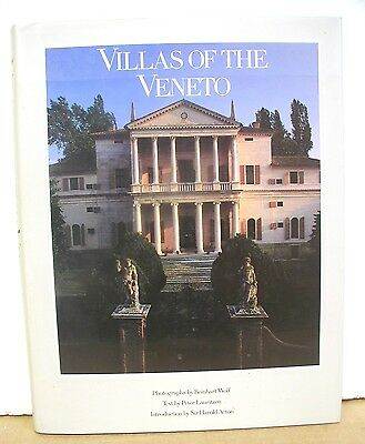 Villas of the Veneto with photographs by Reinhart Wolf 1988 HB/DJ