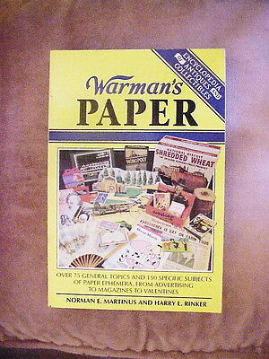 Warmans Paper Encyclopedia of Antiques & Collectibles