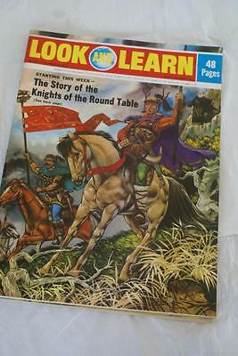 LOOK & LEARN No 530. 11 March 1972,Knight's of the Round Table/Arctic