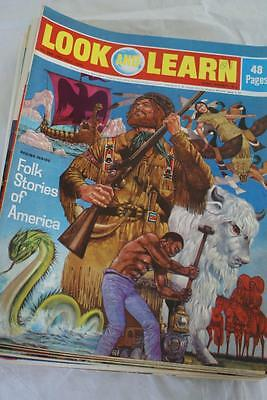 LOOK & LEARN No 550 July 29 1972 American Folk Stories/King Philip of France