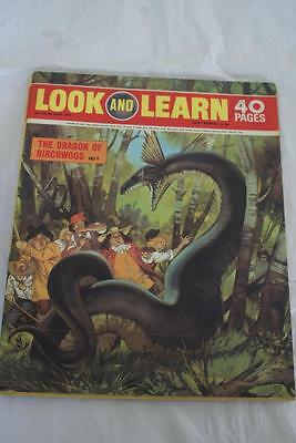 LOOK & LEARN No  429. 4th April 1970. The Dragon of Birchwood