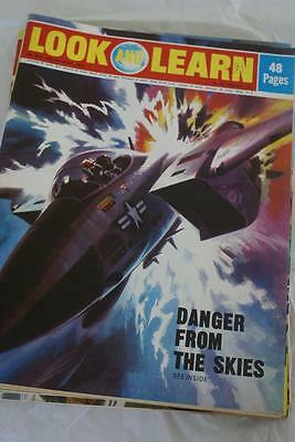 LOOK & LEARN No 553, 19 August 1972. Danger From The Skies/Bushland Hunt