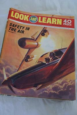 LOOK & LEARN No 418, 17 Jan 1970. Safety in the Air/Galen/1798 Massacre