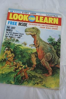 LOOK & LEARN No 562. 21 October 1972. The Lost World/Blackbeard/Alberich