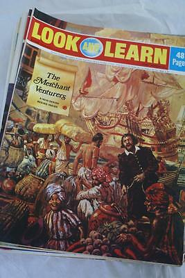 LOOK & LEARN No 549. July 22 1972. Cable Clippers/The Arabs/Merchants