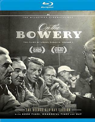 ON THE BOWERY:FILMS OF LIONEL V1 BY ROGOSIN,LIONEL (Blu-Ray)