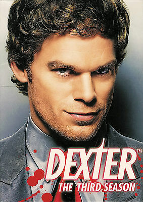 Dexter ~ The Complete Third 3rd Season ~ 4-Disc DVD Set ~ FREE Shipping USA