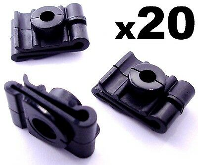20x Plastic Speed Nuts, Spire Clips for Fixing Wheel Arch Lining & Splashguard