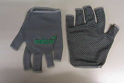 Mitre Sticky Fingers Rugby Gloves. Grey, Sizes: XS-XL. Great gloves. Bargain!!!