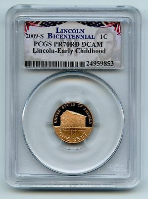 2009 S 1C Lincoln Early Childhood Cent PCGS PR70DCAM