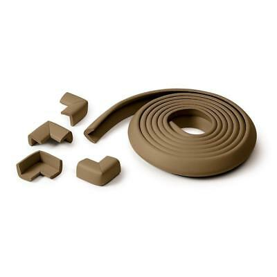 Prince Lionheart Table Edge Guard with Four Corners (Chocolate) Babyproofing