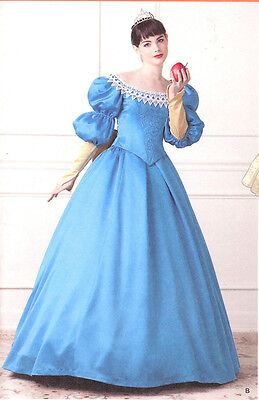 Snow White PATTERN Simplicity 1728 Mirror Queen Princess Wedding dress costume