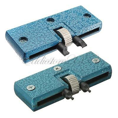 NEW Rectangle Adjustable Watch Back Case Cover Opener Remover Wrench Repair Tool