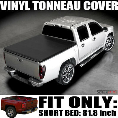 "Hidden Snap Vinyl Tonneau Cover 99-16 Ford F250/F350/F450 Superduty 6.5' 78"" Bed"