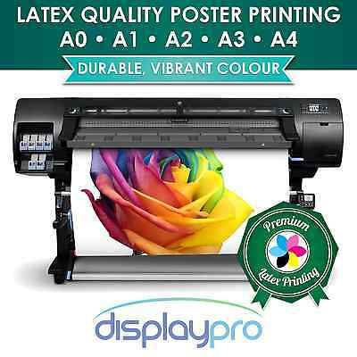 Gloss / Matt Colour Poster Printing for A-board, Snapframe A4 A3 A2 A1 A0