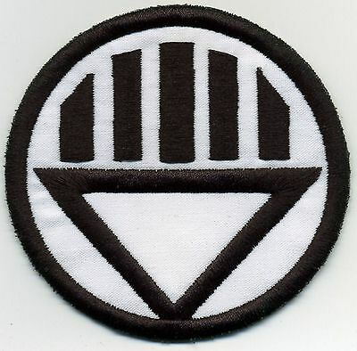 "5"" Black Lantern Corps Classic Style Embroidered Iron-On Patch"