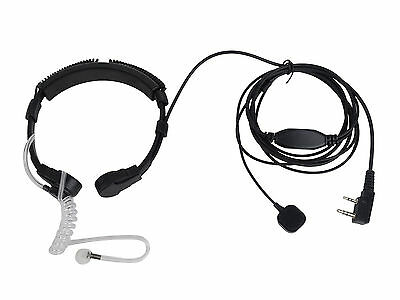 Tactical Heavy Duty Neck Band Throat Mic for BAOFENG UV-5R UV-3R BF-777S BF-888S