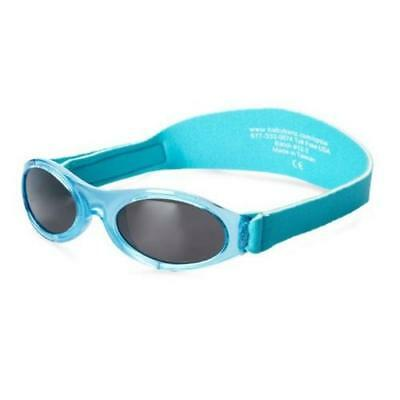 Baby Banz Adventurer Sunglasses 100% UVA/UVB Protection (Age 0-2yrs) Aqua LtBlue