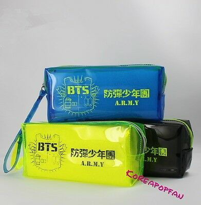 Bangtan Boys Kpop BTS pencil case makeup-bag KPOP New