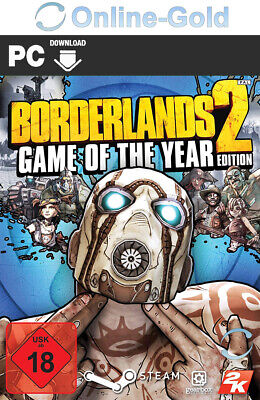 Borderlands 2 - Game of the Year Edition Key Steam Download Code [PC][EU][NEU]