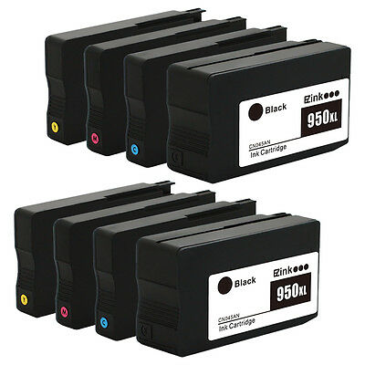 8PK New Gen HP 950 XL 951 XL Ink Cartridge for Officejet Pro 8620 8660 8630 8610