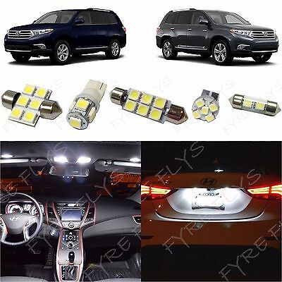 White LED interior lights package kit for 2003-2009 RX 15 pcs 3014 series SMD
