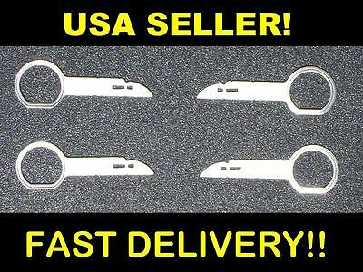 OEM Factory Aftermarket Theft-Deterrant Radio Stereo Release Removal Tool Keys
