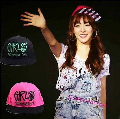 Girls generation embroidered love peace snsd snapback Cap Hat Kpop New
