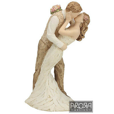 More than Words 9518-MTW Loving Embrace Bride & Groom Figurine NEW in BOX  19215