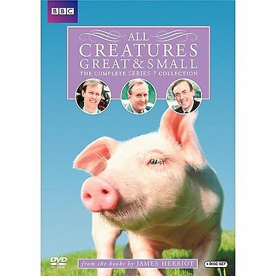 All Creatures Great & Small: The Complete Series 7 (DVD, 2010, 4-Disc Set) NEW!