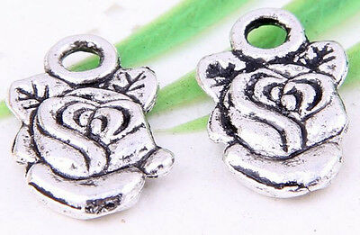 Wholesale 26//57Pcs Tibetan Silver Donald Duck Charms 18x8.5mm Lead-free